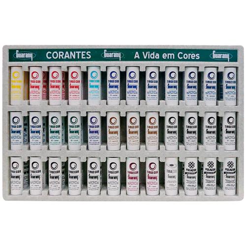 CORANTE GUARANY DISPLAY MISTO  | CAIXA  C/ 1X72 | EAN 7891988000440
