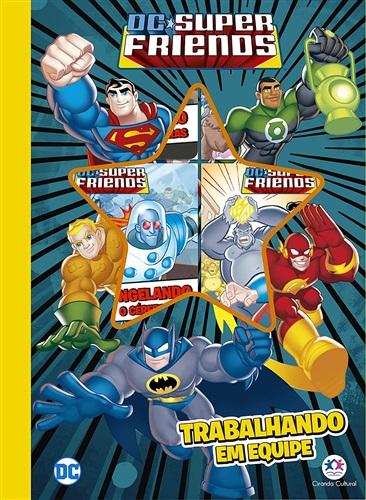 DC Super Friends - Trabalhando em equipe - 6 minilivros