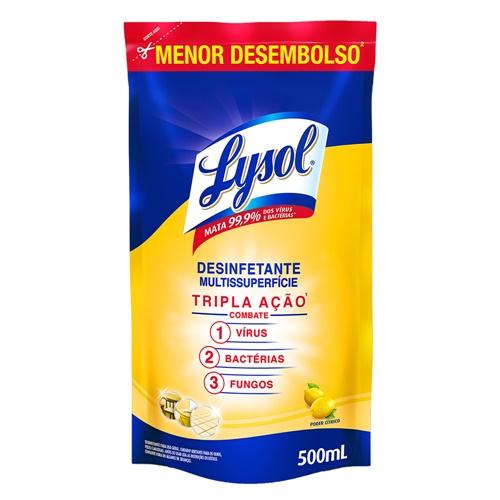 DESINFETANTE LYSOL PODER CITRICO SACHE   EAN 7891035001314