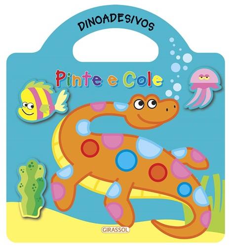 Dinoadesivos - Pinte e cole