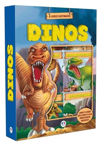 Dinos - 6 minilivros