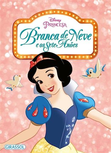 Disney - pipoca - Branca de Neve e os Sete Anões