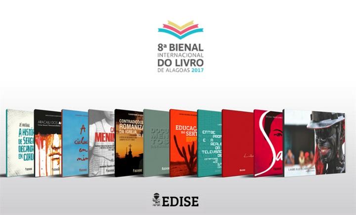 Edise participa da 8ª Bienal Internacional do Livro de Alagoas
