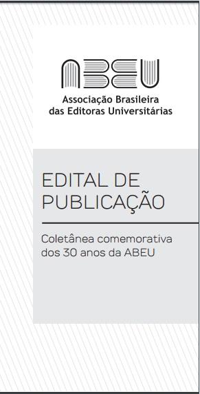 Edital de Publicação - Coletânea comemorativa dos 30 anos da ABEU