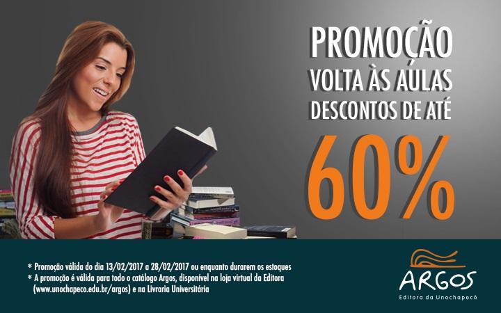 Editora Argos dá início à promoção de volta às aulas