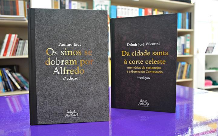 Editora Argos lança livros sobre a história da região