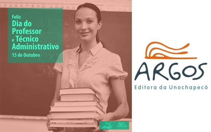 Editora Argos realiza homenagem ao Dia do Professor