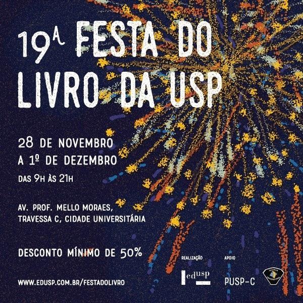 Editora UEPG marca presença na 19ª FESTA DO LIVRO DA USP
