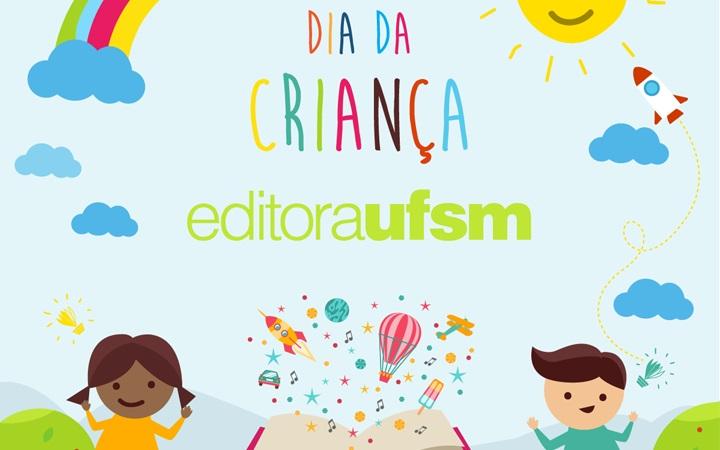 Editora UFSM realiza ação de incentivo à leitura em homenagem ao Dia das Crianças