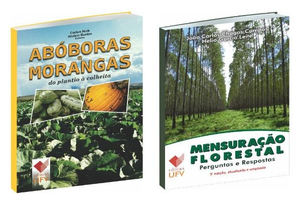 Editora UFV lança dois novos títulos em abril