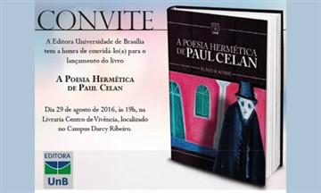 Editora UnB lança livro com poemas traduzidos de Paul Celan