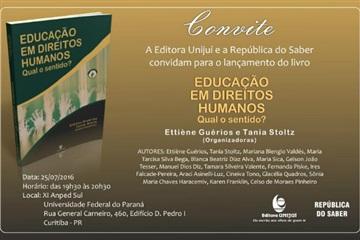 Editora Unijuí participará da Anped Sul 2016