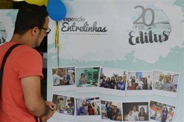 Editus celebra 20 anos de história com exposição fotográfica