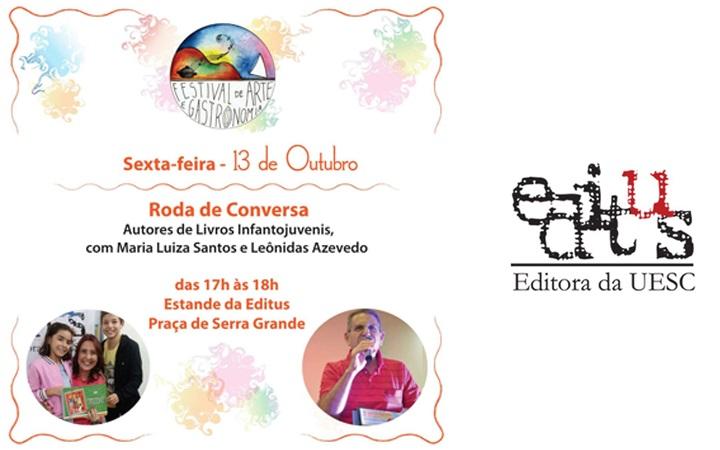 Editus marca presença no 1º Festival de Arte e Gastronomia de Serra Grande