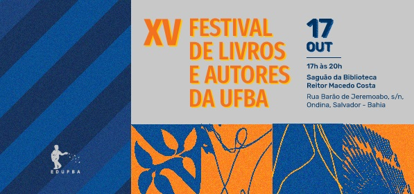 Edufba realiza XV Festival de Livros e Autores da UFBA
