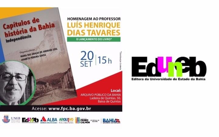 Eduneb lança livro em homenagem ao professor Luis Henrique Dias Tavares