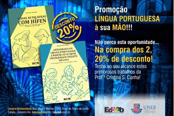 EDUNEB oferece desconto em livros de Língua Portuguesa