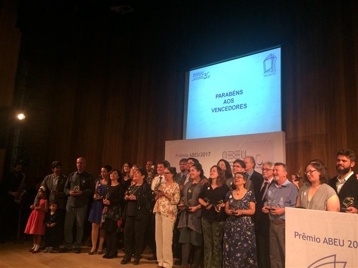 Entrega do Prêmio ABEU 2017 prestigia as melhores edições universitárias