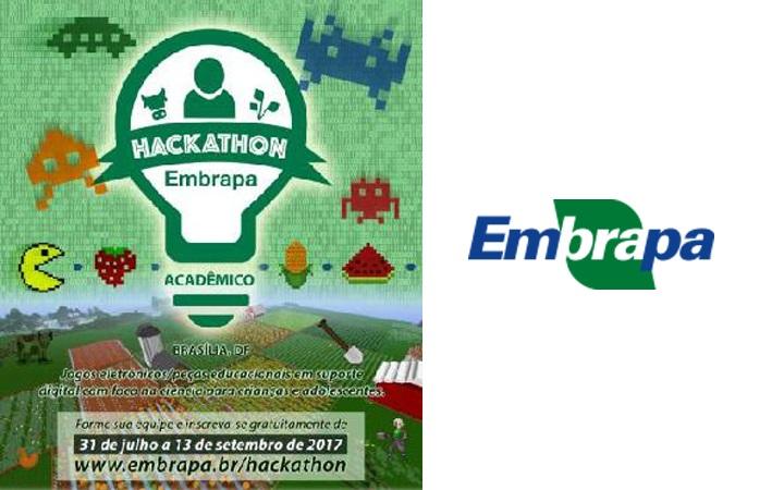Estão abertas as inscrições para o Hackathon Acadêmico Embrapa 2017