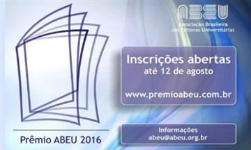 Falta menos de um mês para se inscrever no Prêmio ABEU