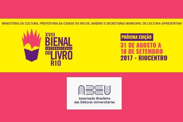 ABEU convida associadas para a XVIII Bienal Internacional do Livro do Rio de Janeiro