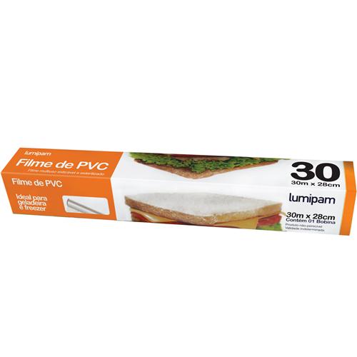 FILME PVC LUMIPAM 30 METROS | CAIXA  C/ 1X25