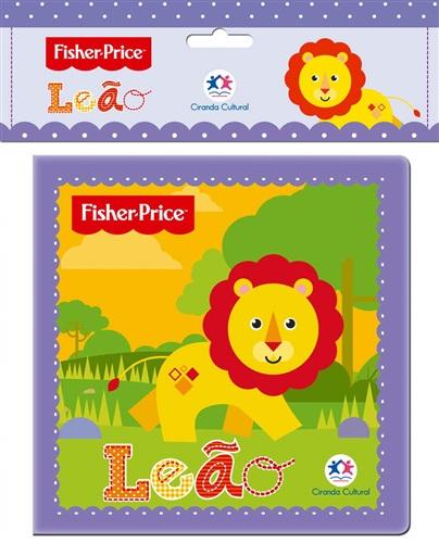 Fisher-Price - Leão - Livro de banho