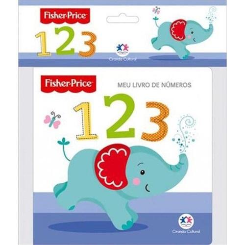 Fisher-Price - Meu livro de números 123 - Livro de banho