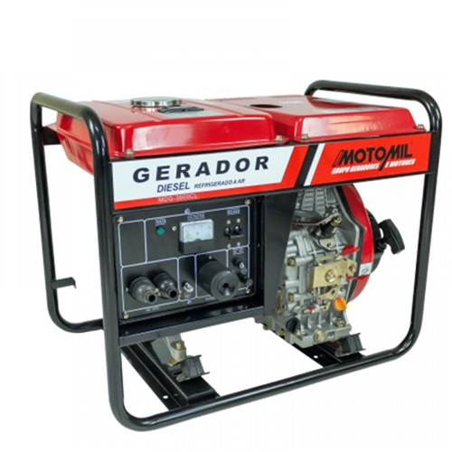 GERADOR A DIESEL 3,6KVA MDG3600CL MOTOMIL