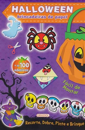 Halloween Roxo: Brincadeiras de Papel: 2