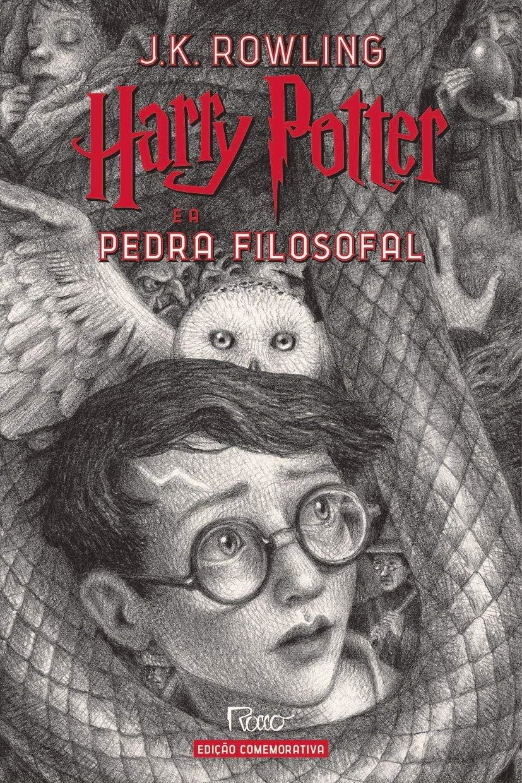 12++ Harry Potter E A Pedra Filosofal Ilustrado
