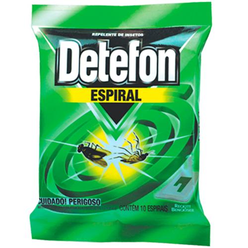 INSETICIDA DETEFON ESPIRAL  | CAIXA  C/ 20X10 UNID