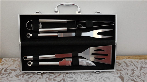 KIT CHURRASCO INOX