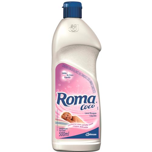 LAVA ROUPAS LÍQUIDO ROMA COCO