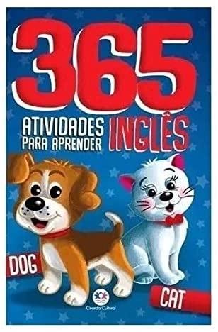 Livro Infantil 365 Atividades Para Aprender Inglês