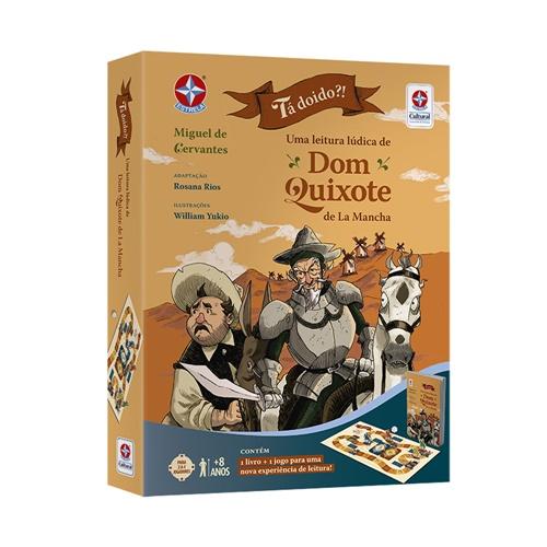 Livro Jogo Tá Doido?! Uma Aventura Lúdica de Dom Quixote - Estrela