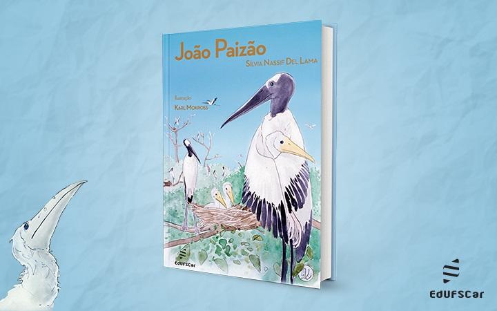Livro une ficção e realidade em história sobre cegonhas do Pantanal