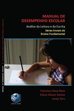 Manual de desempenho escolar - Análise da Leitura e da Escrita