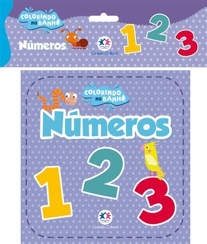 Números - Livro de banho