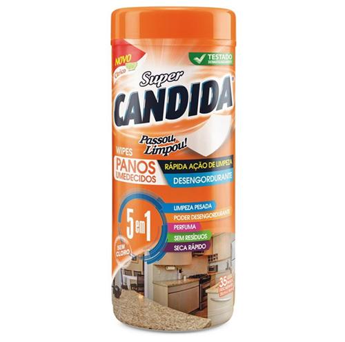 PANO UMEDECIDO SUPER CANDIDA DESENGORDURANTE