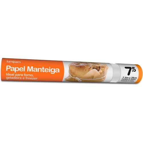 PAPEL MANTEIGA LUMIPAM  | CAIXA  C/ 1X15