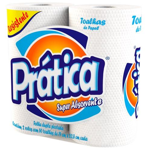 PAPEL TOALHA PRÁTICA C/2 | FARDO  C/ 12X2