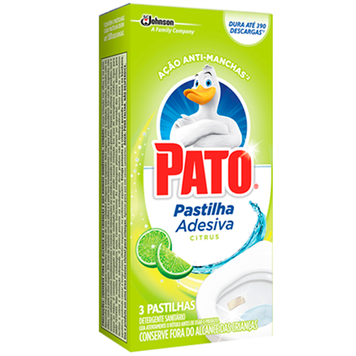 PASTILHA ADESIVA PATO CITRUS