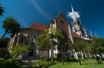 Catedral São Pedro de Alcântara. Fonte/Crédito: http://www.petropolis.rj.gov.br/fct/index.php/galeria-de-fotos/category/14-catedral-sao-pedro-de-alcantara