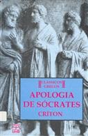 APOLOGIA DE SÓCRATES; CRITON/PLATÃO