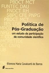 Política de pós-graduação: um estudo da participação da comunidade científica
