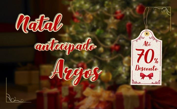 Promoção de Natal antecipada