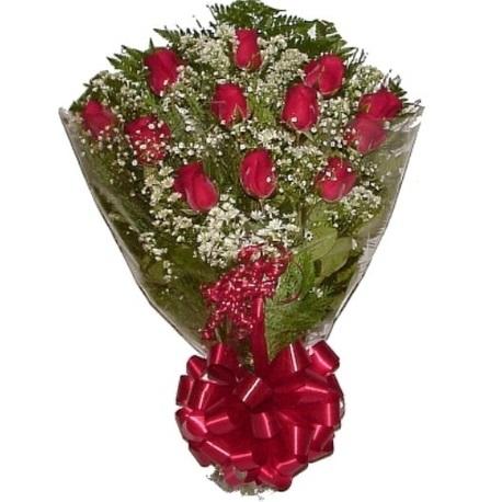 Ramalhete de Rosas com 12 rosas