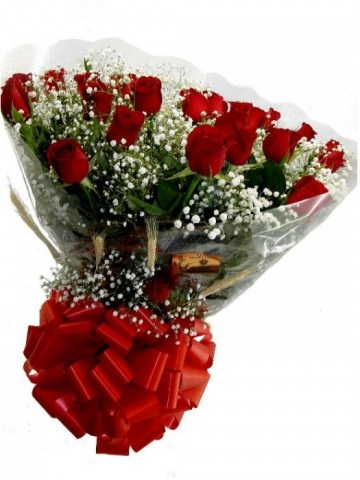 Ramalhete de Rosas com 24 rosas