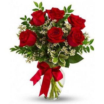 Ramalhete de Rosas com 6 rosas